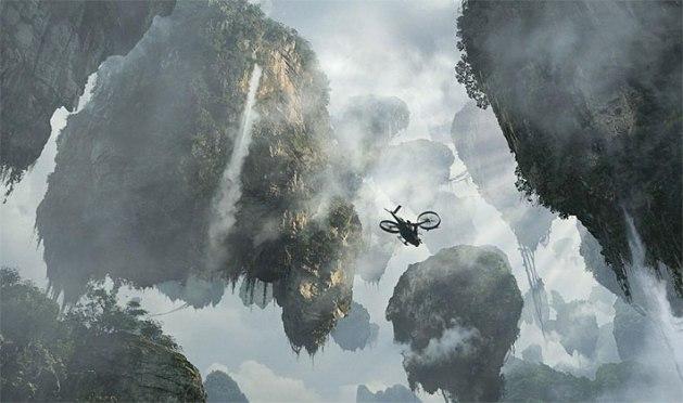 Las montañas colgantes de Pandora desafían radicalmente el modelo establecido